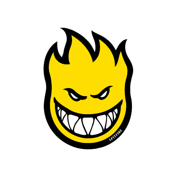 Spitfire Fireball sticker (yellow, medium)
