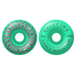 Spitfire Formula Four 99D Pro Mountain Pool Service Classic Full wheels (54mm), Turquoise SF-2111022154 Canada