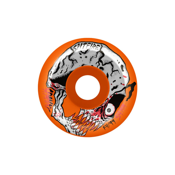 Spitfire Spanky Neckface F4 99D Classic wheels (orange, 52mm)