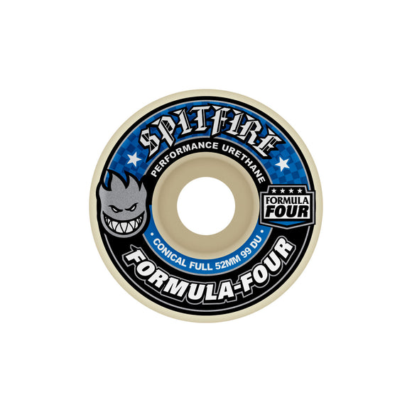 Spitfire Formula Four 99D Conical wheels (52mm) Canada