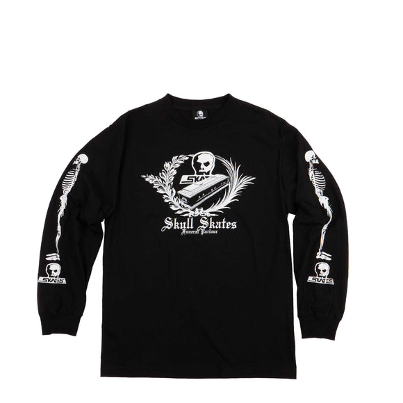 Skull Skates Funeral Parlour L/S tee black Canada