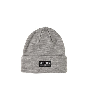Spitfire Live To Burn Cuff beanie, Heather Grey Canada