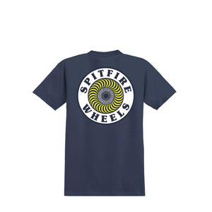 Spitfire OG Circle Fill s/s tee  Navy/Multi-color Print Canada