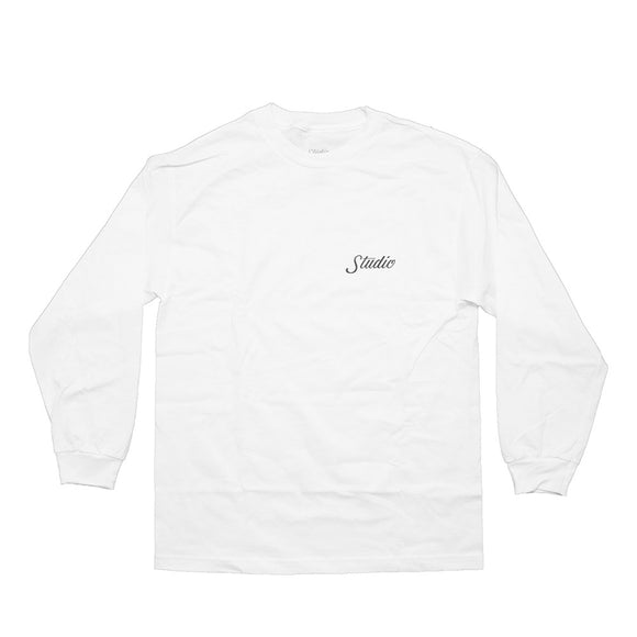 Studio Skateboards Small Script L/S Shirt