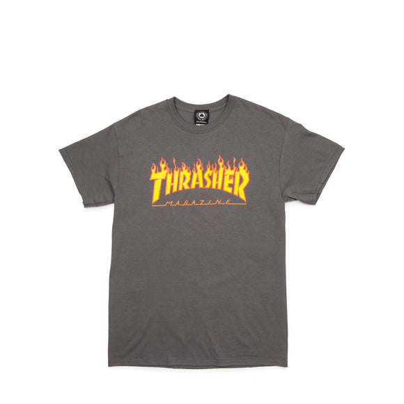 Thrasher Flame Mag S/S Tee charcoal Canada