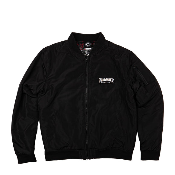 Thrasher Bomber jacket black Canada
