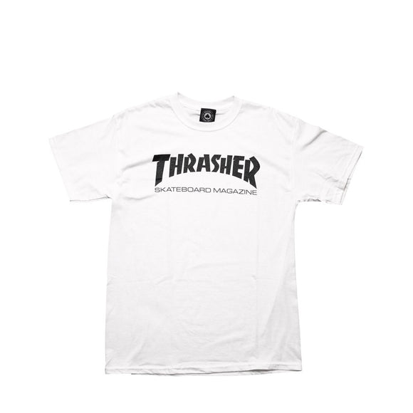 Thrasher Skate Mag Tee - white - imported to Canada