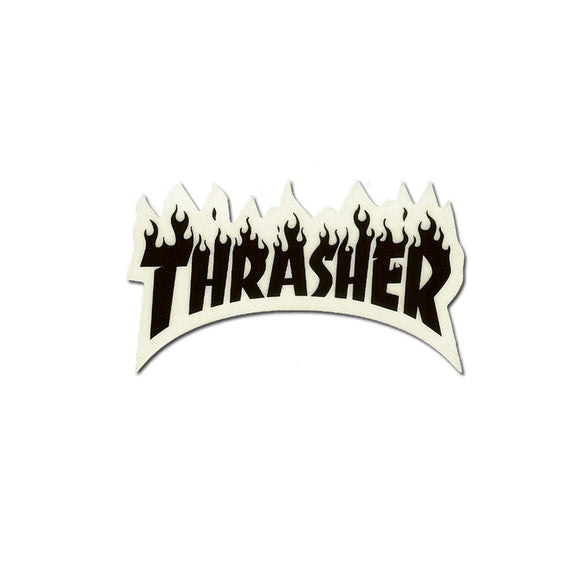 Thrasher Flame Sticker (Small)