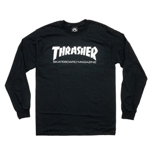 Thrasher Skate Mag long sleeved t-shirt - black