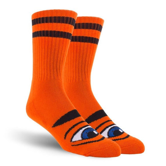Toy Machine Sect Eye socks, Orange Canada