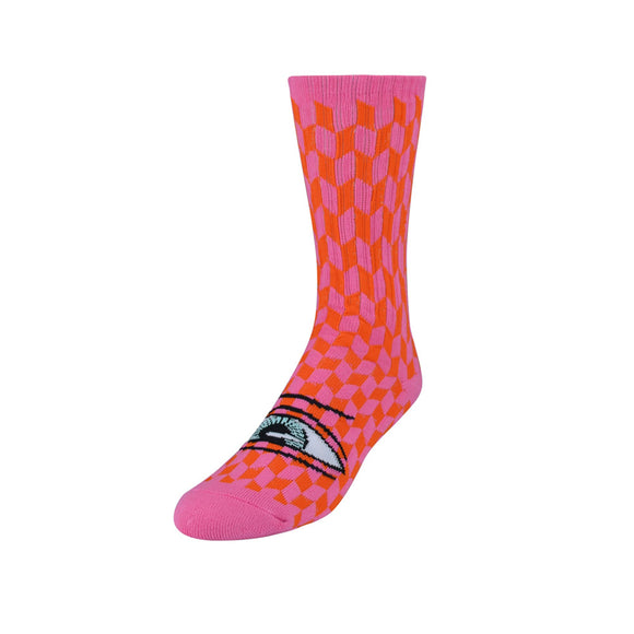 Toy Machine Sect Herring Socks - Pink