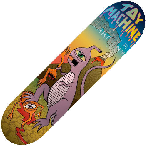 Toy Machine Harmony Tyrannosect Deck (8.375