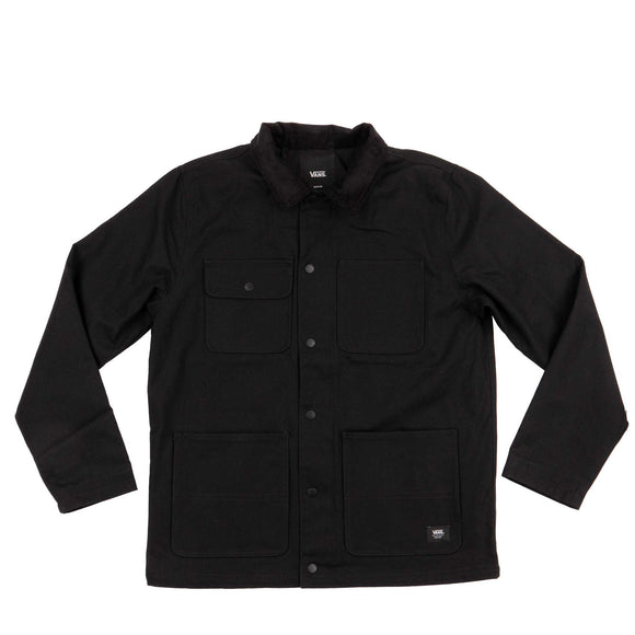 Vans MN Drill Chore jacket VN0A3W2G-BLK black Canada