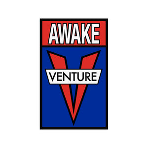 "Venture OG Awake sticker (5"" x 3"")"