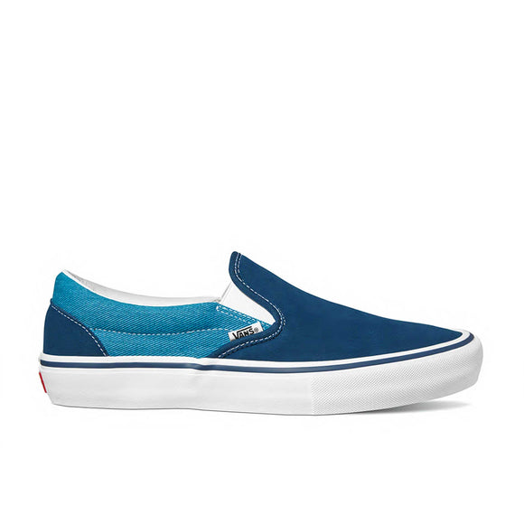 Vans Slip-On Pro VN0A347VSYH (Twill) Gibraltar Sea/Turkish Tile Canada