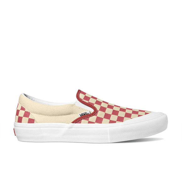 Vans Slip-On Pro Checkerboard VN0A347VV0I mineral red Canada