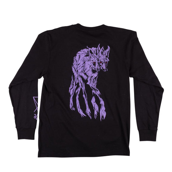 Welcome Maned Woof longsleeved t-shirt imported to Canada