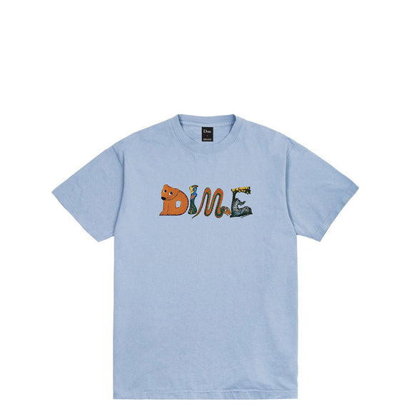 Dime Zoo tee clear blue Canada