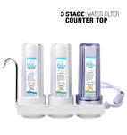 3 Stage Countertop Drinking Water Filter System, Brio Essential