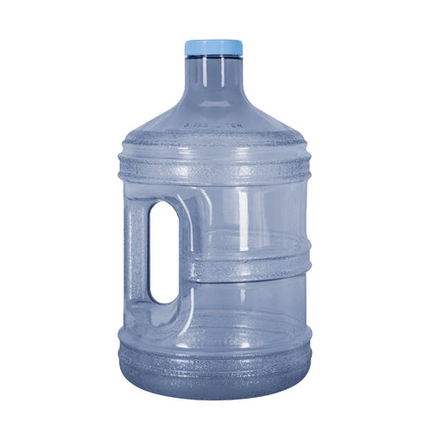 BPA Free 1 Gallon Water Bottle, Plastic Bottle, Sports Bottle, with Screw Cap, GEO