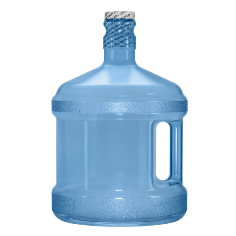2 Gallon BPA Free Reusable Plastic Water Bottle with Screw Cap