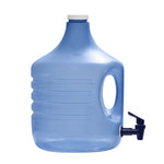 2 Gallon Polypropylene Water Bottle Container with Screw Cap and Valve