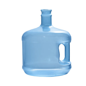 3 Gallon Polycarbonate Plastic Reusable Water Bottle with Crown Cap