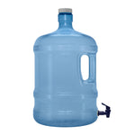 3 Gallon PVC Plastic Reusable Water Bottle Container with Screw Cap and Valve