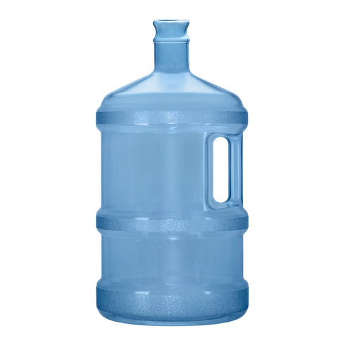3 Gallon BPA Free Reusable Plastic Water Bottle with Tall Crown Cap