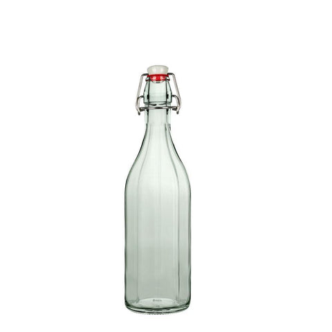 16 Ounce Glass Swingtop Bottle, Water and Brewing Bottle