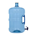 5 Gallon BPA Free PET Plastic Water Bottle with Screw Cap & Valve