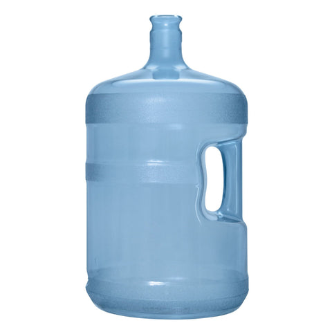 5 Gallon Polycarbonate Plastic Reusable Water Bottle with Crown Top