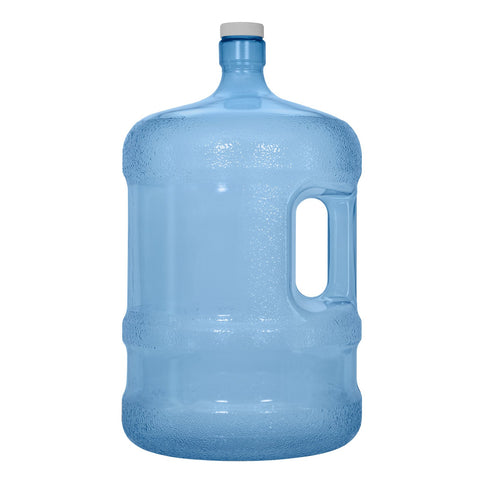 5 Gallon PVC Plastic Water Bottle with Handle & Screw Cap