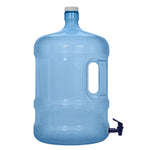 5 Gallon PVC Plastic Reusable Water Bottle with Screw Cap & Valve