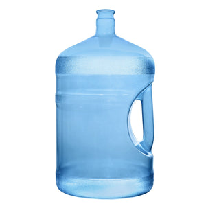 5 Gallon Polycarbonate Plastic Reusable Water Bottle with Crown Cap