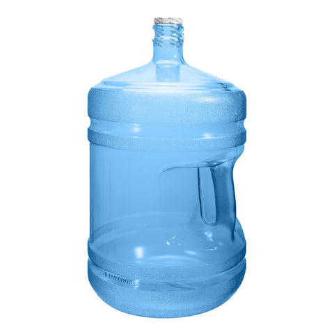 5 Gallon Polycarbonate Plastic Reusable Water Bottle with Screw Cap