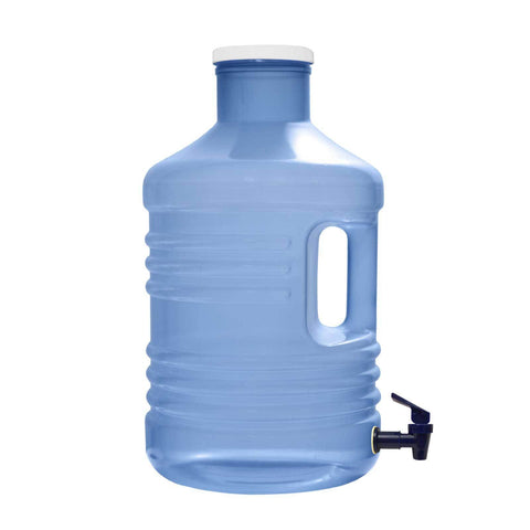 5 Gallon Wide-Mouth Polypropylene Plastic Water Bottle with Valve