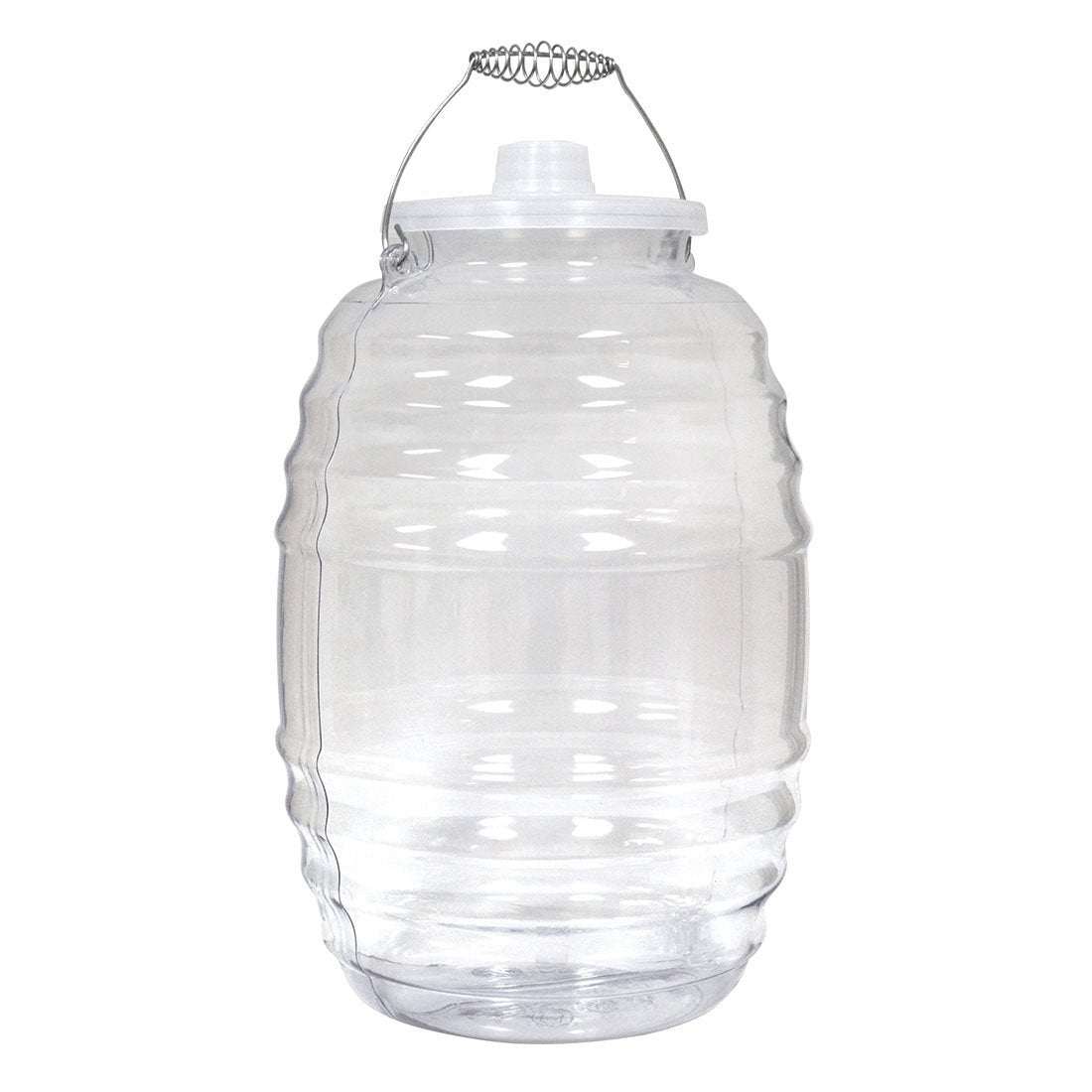 Big-Mouth 5 Gallon, PVC Reusable Beverage Jug with Lid & Wire Handle