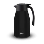 1.5 Liter Stainless Steel Coffee Carafe Pitcher, Coffee Dispenser, with 90 mm Screw Cap, GEO