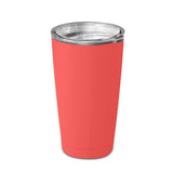 20 Ounce Stainless Steel Tumbler Cup, Double Wall, GEO