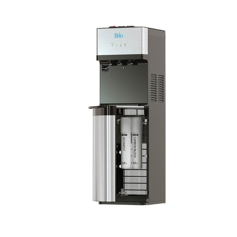 Brio Tri-temp 2-stage Point of Use Water Cooler w/ UV Self Cleaning