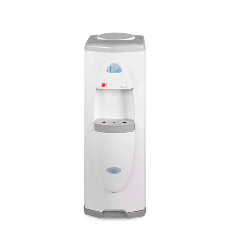 Hot and Cold Filtered Water Dispenser Cooler POU, White, Brio Premiere