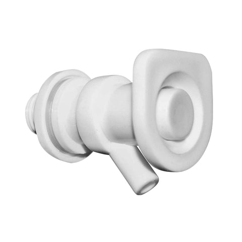 U-Shaped Replacement Valve for Crocks & Water Bottle Dispensers, White