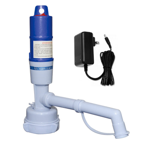 Chargeable Electric Water Pump for 3 and 5 Gallon Bottles