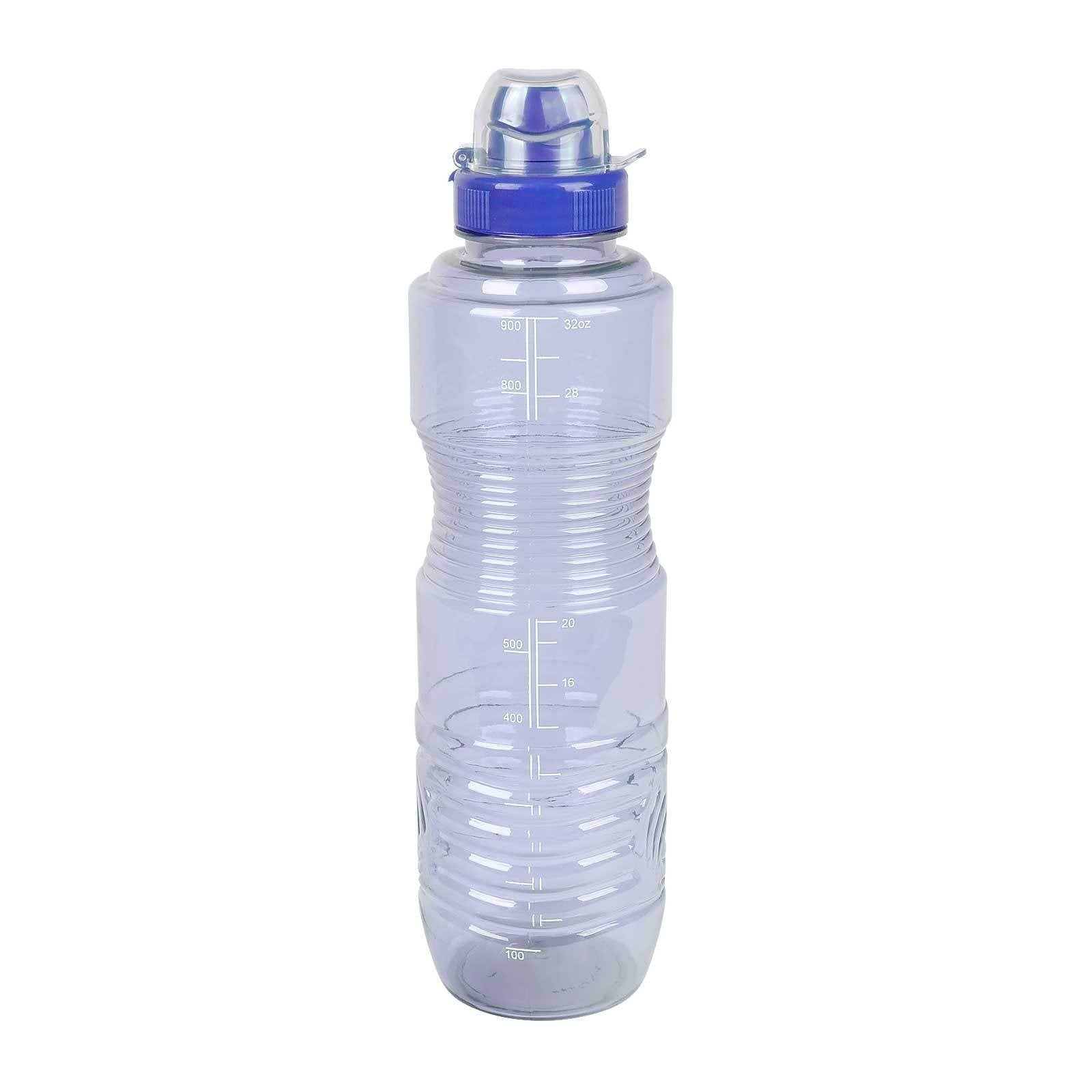 GEO BPA-Free Sports Water Bottle 32-Ounce, with Twist Sports Cap