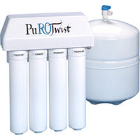 PuROTwist PT4000 TFC 50 GPD Four Stage Chloramine Reduction RO System