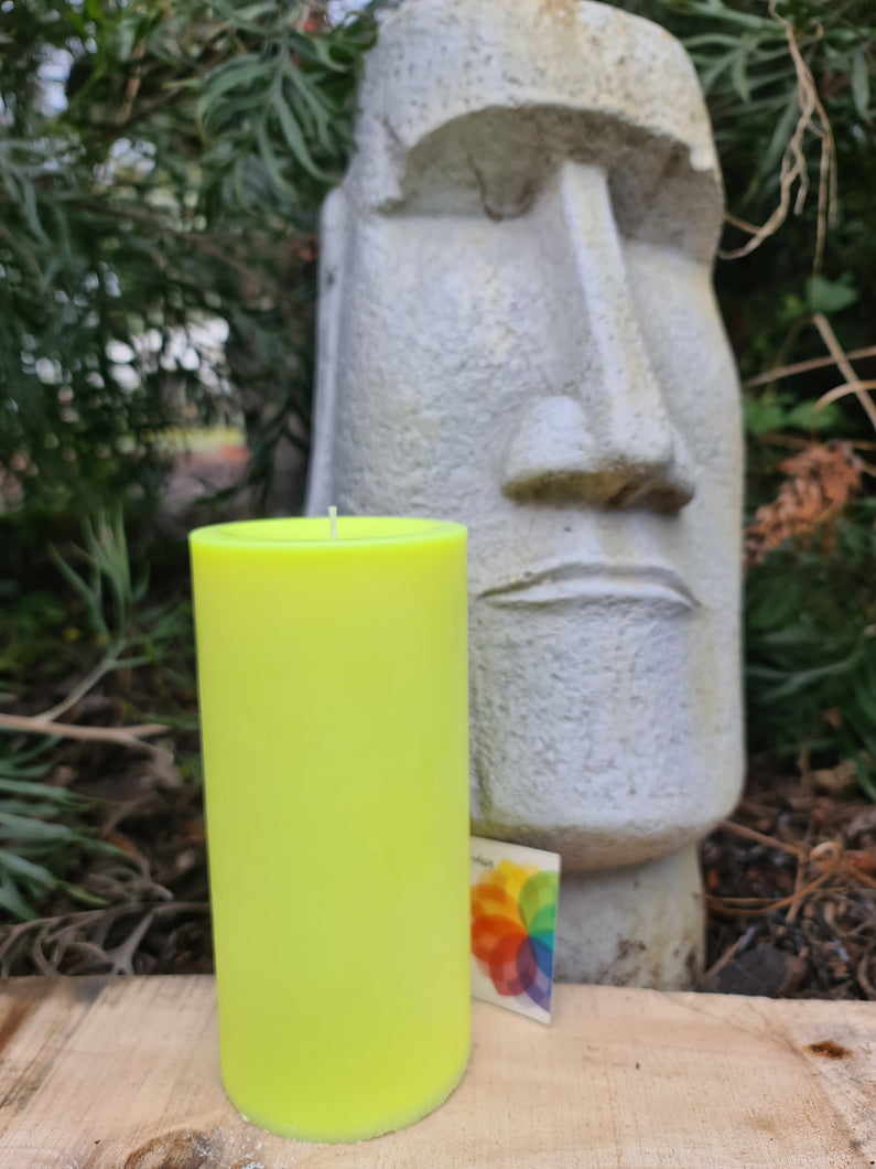 Large Smooth Pillar Candle