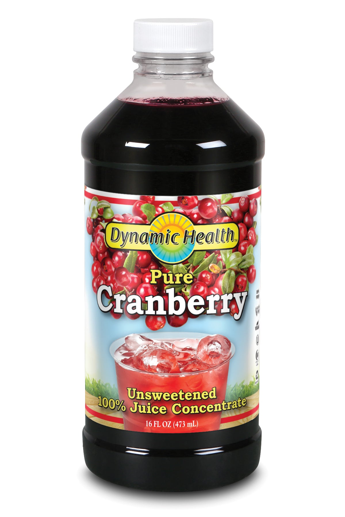 Cranberry Concentrate - 16-Fl-Oz-(473-mL)