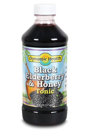Elderberry & Honey Tonic - Plastic
