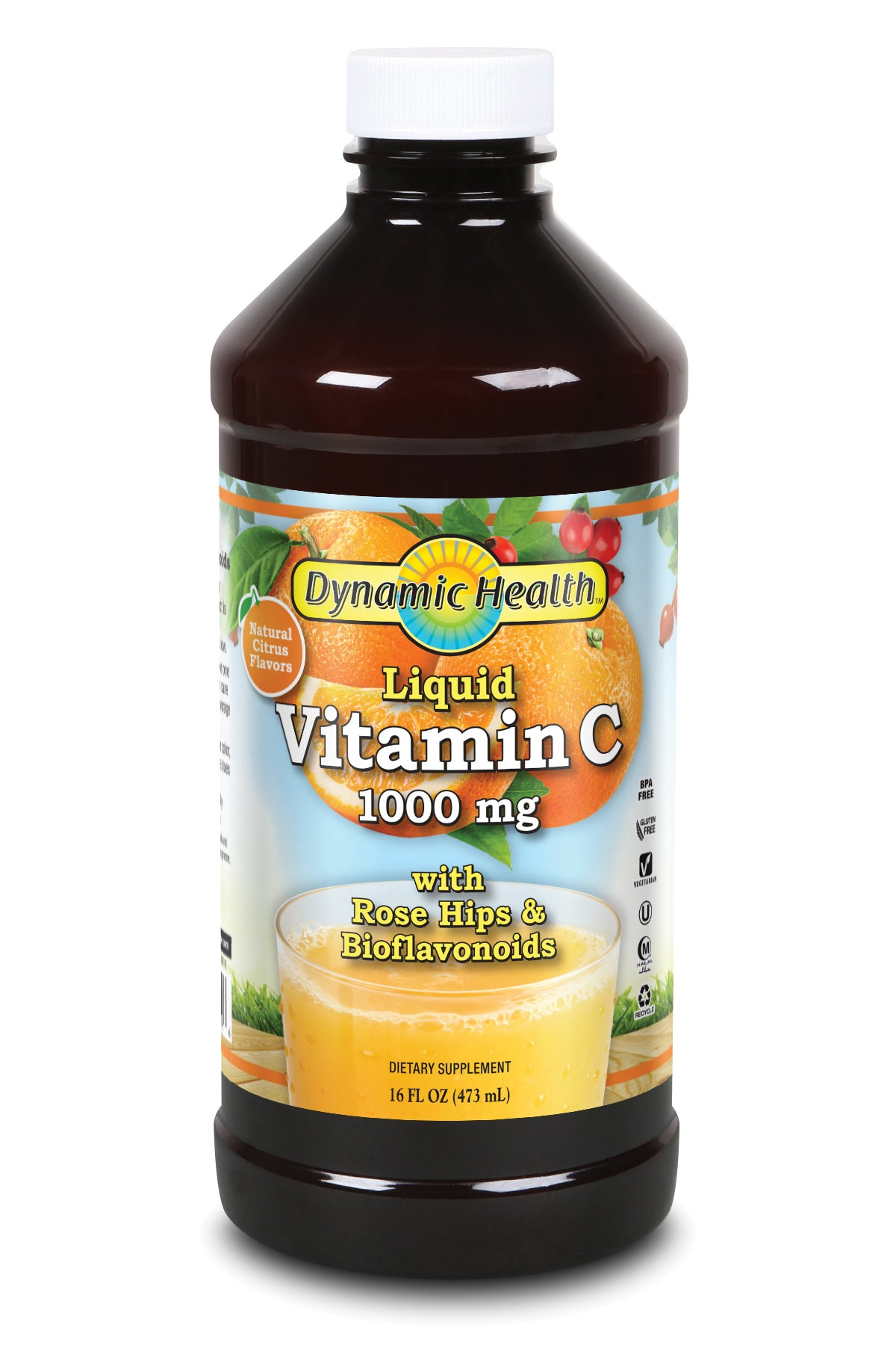 Liquid Vitamin C - 16-Fl-Oz-(473-mL)